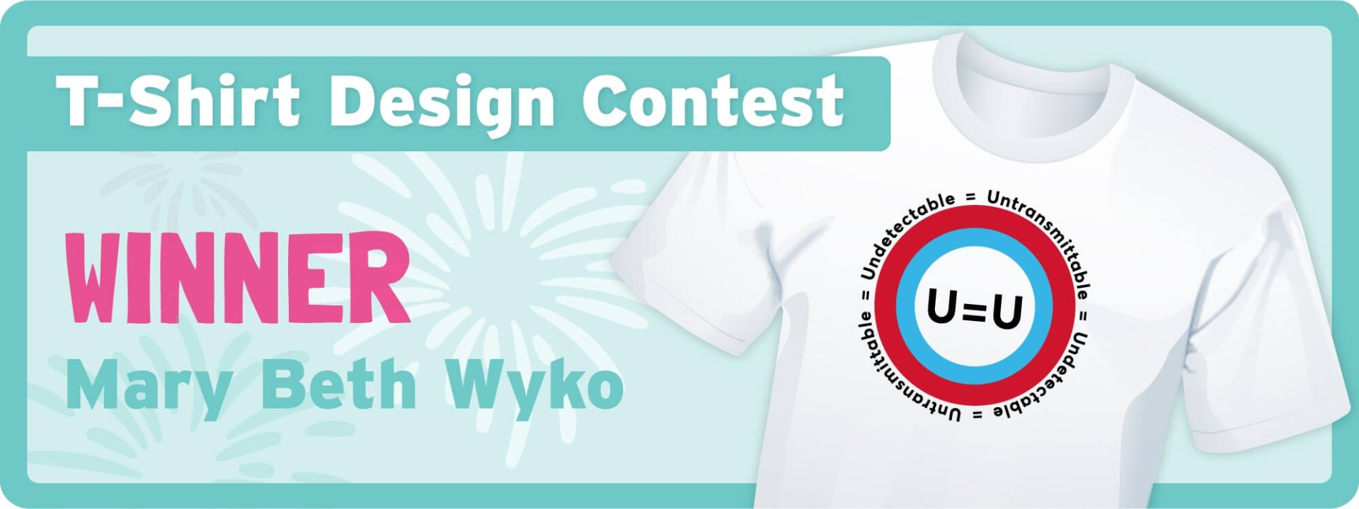U=U T-Shirt Design Contest Banner