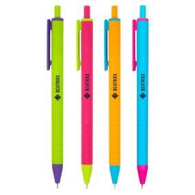 Soft Touch Neon Pen