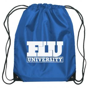 custom drawstring bag with personalized imprint