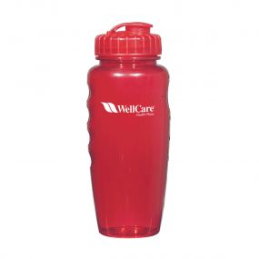 affordable plastic bottle personalized with imprint