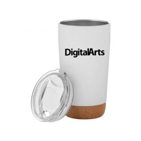 personalized cork base tumbler