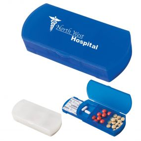 Pill Holder Bandage Dispenser