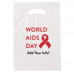 World AIDS Day Plastic Handout Bag