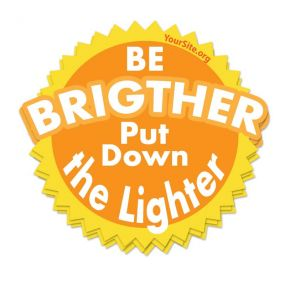 Be Brighter Sticker
