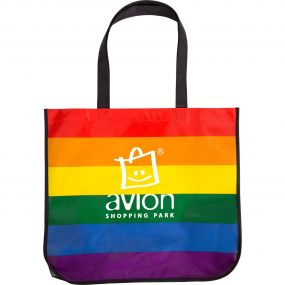 Rainbow Large Tote Bag