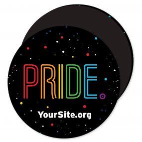 Gay Pride Neon Magnet