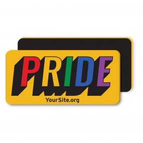 Gay Pride Retro Magnet
