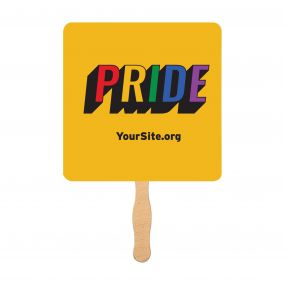 Gay Pride Retro Mini-Fan