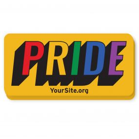 Gay Pride Retro Sticker