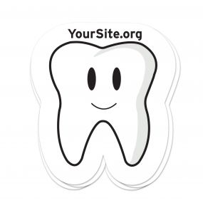 Happy Tooth Sticker