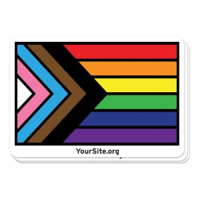 Inclusive Pride Flag Sticker