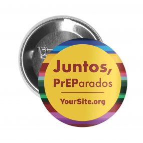 Juntos PrEParados Button Pin