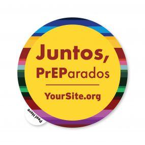 Juntos PrEParados Sticker