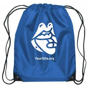 PrEP Mouth Drawstring Bag