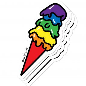 Pride Ice Cream Sticker