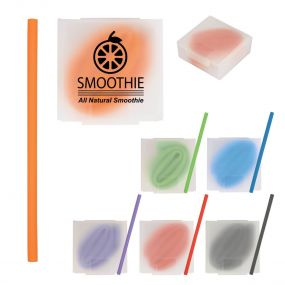 Silicone Straw with Travel Case