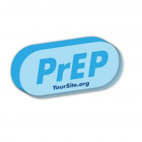 PrEP Pill Sticker