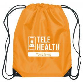 TeleHealth Drawstring Sportpack