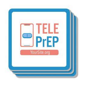 TelePrEP Bar Coaster