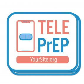 TelePrEP Sticker