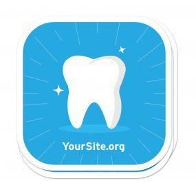 Shiny Tooth Sticker