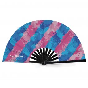 Trans Painted Snap Fan