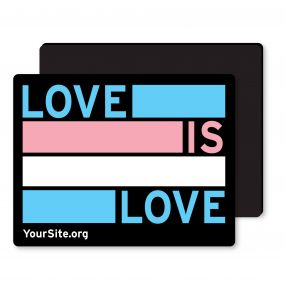 Trans Love Is Love Magnet