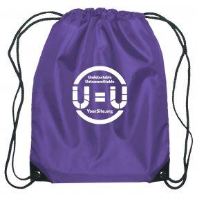 U=U Drawstring Bag
