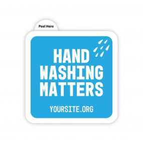 Hand Washing Matters Sticker