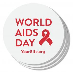 World AIDS Day Coaster
