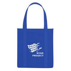personalized tote bag with carrying handles