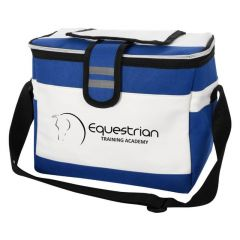 cooler bag with adjustable strap and easy access compartment