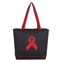 World AIDS Day Ribbon Sport Tote Bag