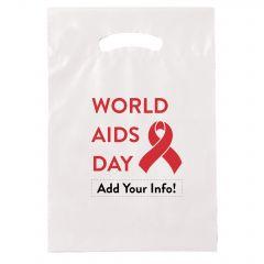 World AIDS Day Plastic Handout Bag