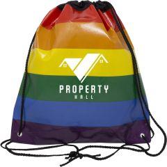 Rainbow Drawstring Sportpack