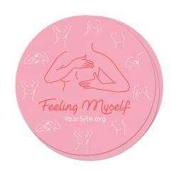 Feeling Myself Breast Cancer Awareness Sticker