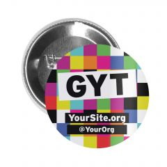 Button Pin - Get Yourself Tested