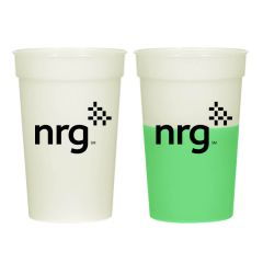 personalized color changing cup with imprint on front