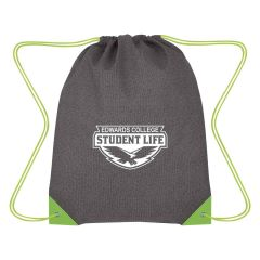 personalized non-woven drawstring bag