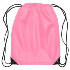 Custom Pink Drawstring Sportpack
