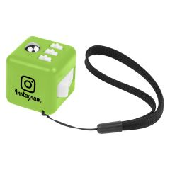 Fidget Stress Cube with Strap