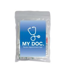 personalized first aid kit relief pack with included supplies