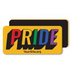 Gay Pride Retro Magnet