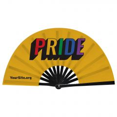 Gay Pride Retro Snap Fan