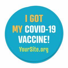 Covid-19 Vaccine Stickers