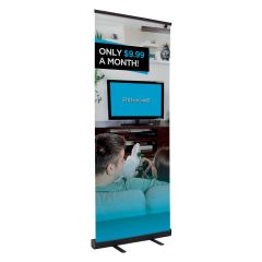 personalized banner with customized graphic image