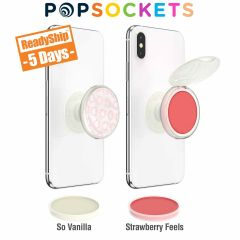 personalized clear popsocket with lim balm flavors