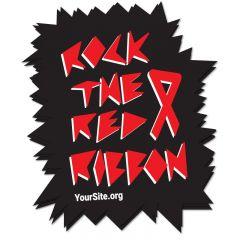 Rock The Ribbon Sticker