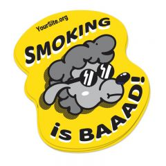 Smoking Is Baaad Sticker