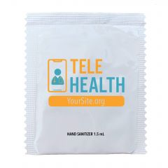 TeleHealth Hand Sanitizer Packets